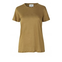 Second Female | Peony T-shirt I Oliven-20